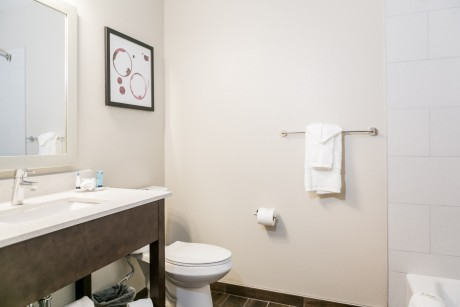 Hotel Siri Downtown Paso Robles - Guest Bathroom