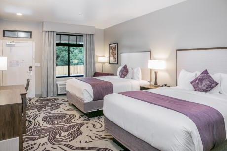 Hotel Siri Downtown Paso Robles - Guest Room with 2 Beds