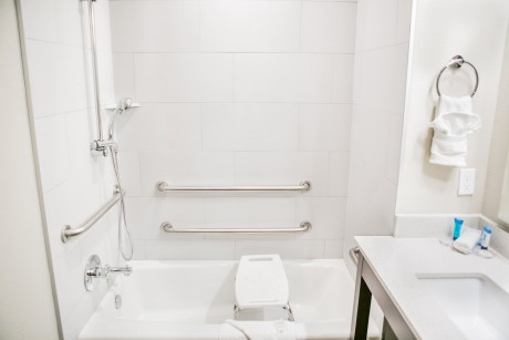 Accessible Private Bathroom